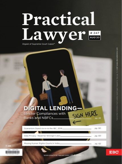 Practical Lawyer Digital Lending - Stricter Compliances With Banks And NBFCs
