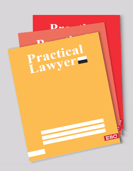 The Practical Lawyer - PLW [Annual Subscription] - EBC Webstore
