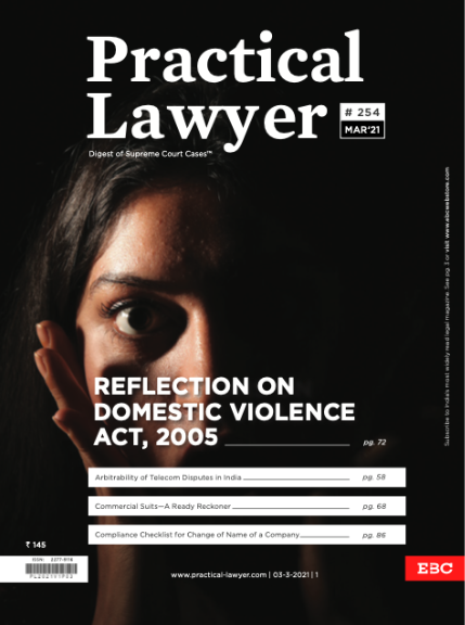 Practical Lawyer Reflection on Domestic Violence Act 2005