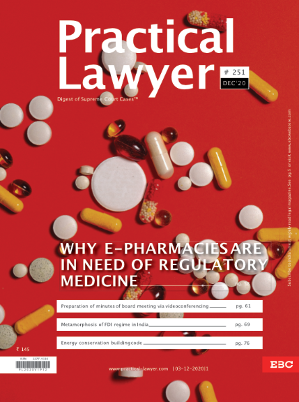 Practical Lawyer Why ePharmacies Are In Need Of Regulatory Medicine