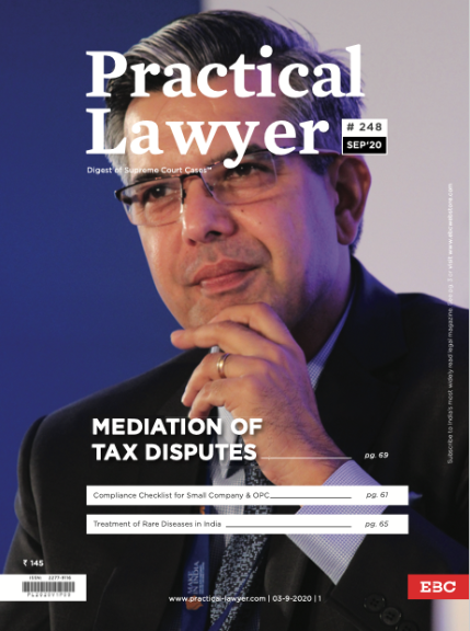 Practical Lawyer Mediation of Tax Disputes