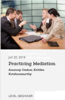 EBC Learning Course - Practicing Mediation