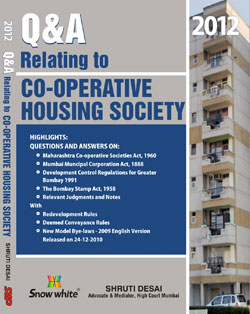 Q & A Relating to CO-OPERATIVE HOUSING SOCIETY