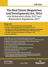 The Real Estate ( Regulation and Development) Act, 2016 with Maharashtra Rules, 2017 and Maharashtra Regulations, 2017