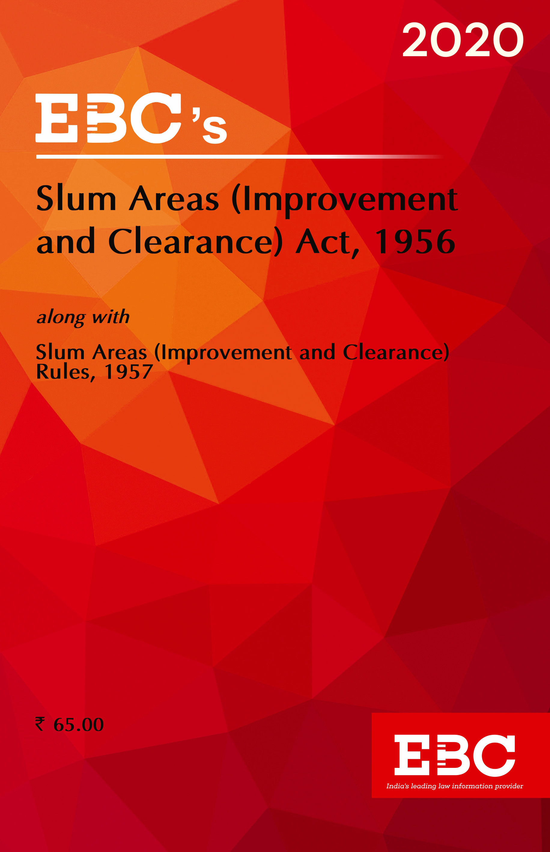 Slum Areas (Improvement and Clearance) Act, 1956