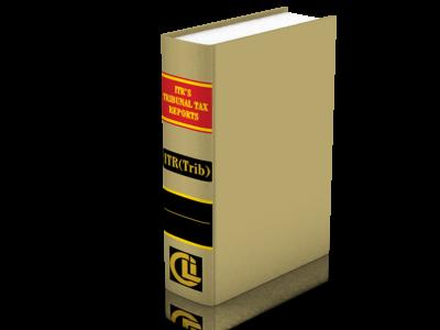 ITR's Tribunal Tax Reports [ITR (TRIB)] Hardbound