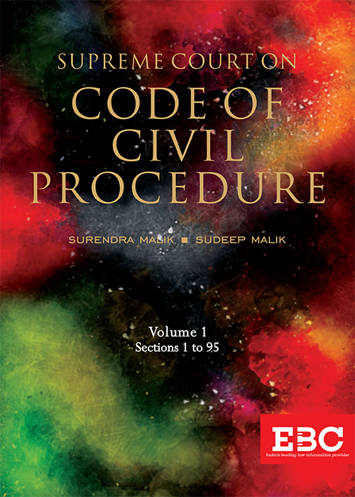 Supreme Court on Code of Civil Procedure (1950 to date) (in 3 Volumes)