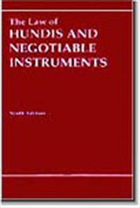 Law of Hundis and Negotiable Instruments