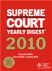 Supreme Court Yearly Digest™ 2010 (Standard Edition)