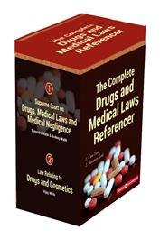 THE COMPLETE DRUGS AND MEDICAL LAWS REFERENCER by Surendra Malik, Sudeep Malik and Vijay Malik