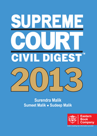 SUPREME COURT CIVIL DIGEST , 2013