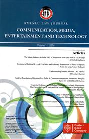 RMLNLU CMET Law Journal