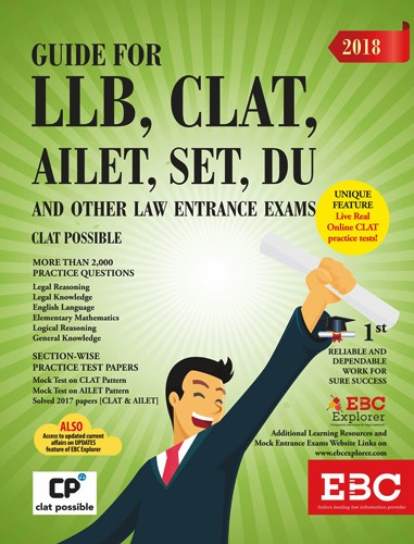 Guide For LLB, CLAT AILET, SET, DU and Other Law Entrance Exams