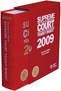 Supreme Court Yearly Digest 2009 (Premium Edition)
