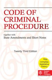 Code of Criminal Procedure: together with State Amendments and Short Notes (CrPC-Pocket Edition)