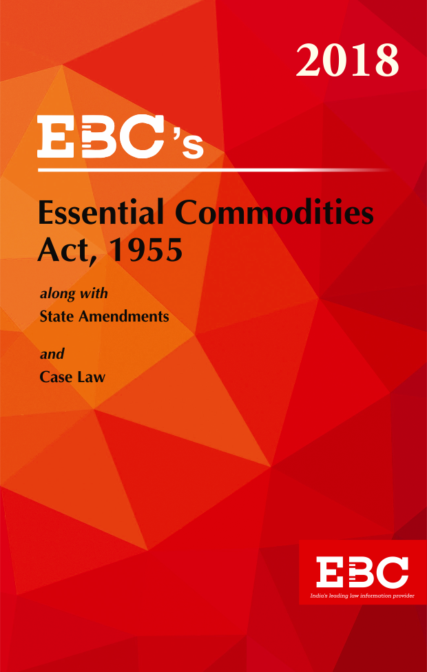 Essential Commodities Act, 1955 - (Bare Act)