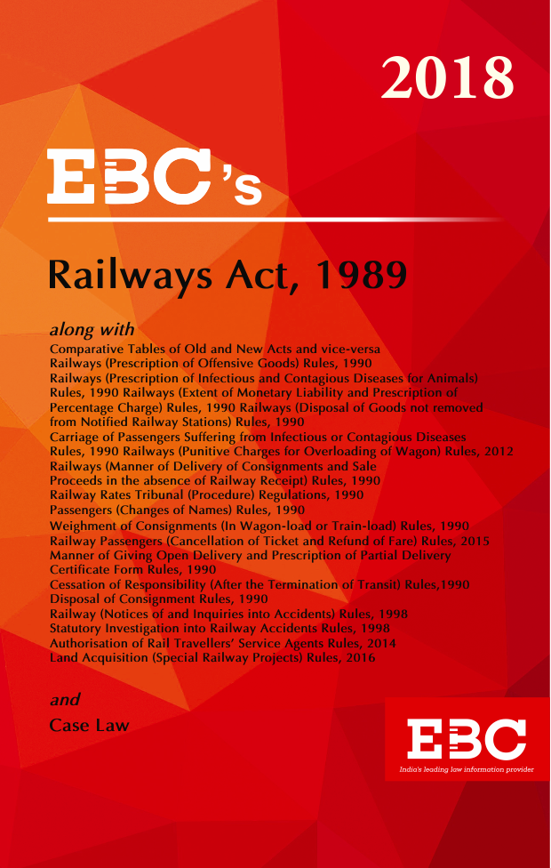 Railways Act, 1989 - [As amended by Finance Act, 2017]