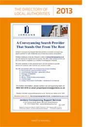 Directory of Local Authorities 2013