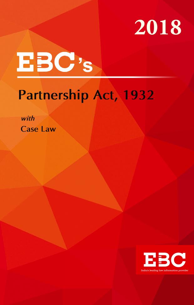 Partnership Act 1932 - (Bare Act)