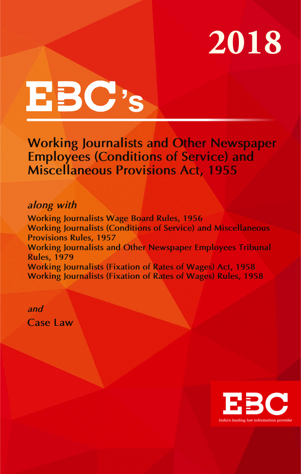 Working Journalists & other Newspaper Employees (Conditions of Service) & Misc. Provisions Act, 1955