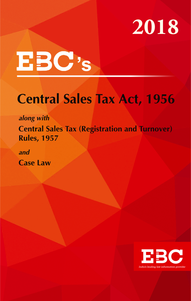 Central Sales Tax Act, 1956 - (Bare Act)