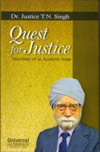 Quest for Justice - Miscellany of an Academic Judge