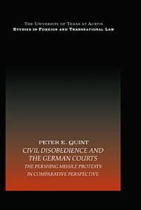 Civil Disobedience and the German Courts