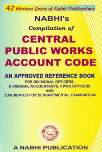 Central Public Works Account Code