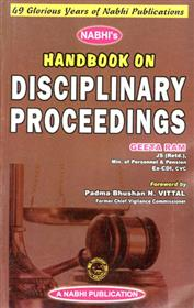 Handbook On Disciplinary Proceedings