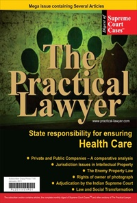 The Practical Lawyer [Special issue on State Responsibility for Health Care]