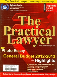 The Practical Lawyer [Cover Story - General Budget]