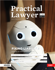 Practical Lawyer - Fixing Liability - Failures of Intelligent Machines