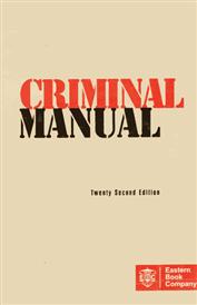 Criminal Manual [Pocket - Old Edition]