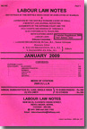 Labour Law Notes (LLN) [Monthly] (In 4 Volumes)