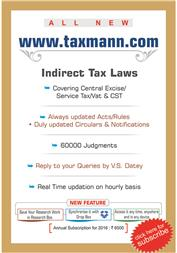 Goods and Services Tax Cases { The GST Weekly} ( Weekly - 52 Issues)