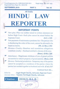 All India Hindu Law Reporter
