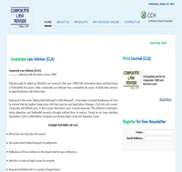 Corporate Law Adviser (CLA)