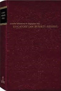 Singapore Law Reports (Reissue)