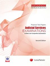 Practice Test Papers - Judicial Services Examinations & Other Law Competitive Examinations