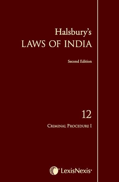 Halsbury's Laws of India, Volume 12 - Criminal Procedure I