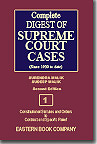 Complete Digest of Supreme Court Cases (Volume 1) [Since 1950 to date] Second Edition in about 42 Large Volumes