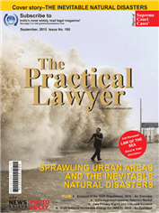 The Practical Lawyer - SPRAWLING URBAN AREAS AND THE INEVITABLE NATURAL DISASTERS