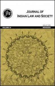 NUJS Journal of Indian Law and Society