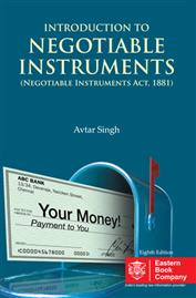 Introduction to  Law of Negotiable Instruments by Avtar Singh