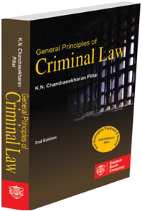 General Principles of Criminal Law by Dr. K.N. Chandrasekharan Pillai