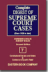 Complete Digest of Supreme Court Cases (Volume 7) [Since 1950 to date] Second Edition in about 60 Large Volumes