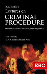 R.V. Kelkar's Lectures on  Criminal Procedure