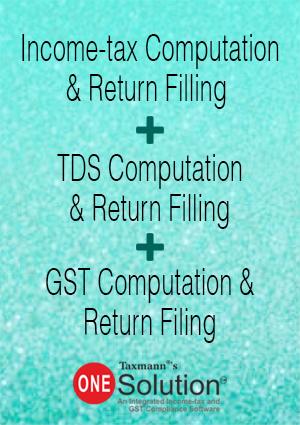 ITR + TDS + GST Return Filing (Combo) (Multi-user) (2017-18)