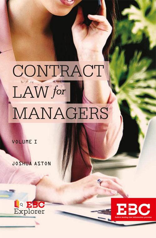 CONTRACT LAW for MANAGERS  (In 2 Volumes)