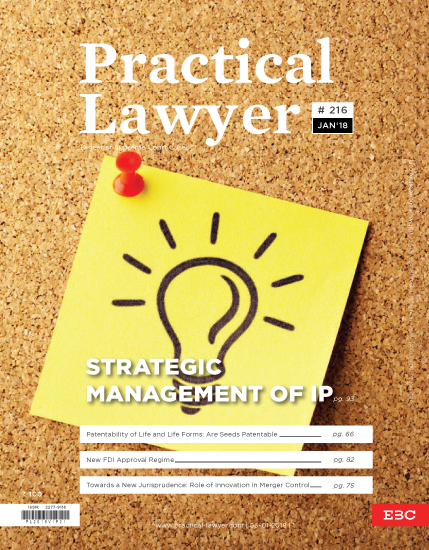 The Practical Lawyer - Strategic Management of IP